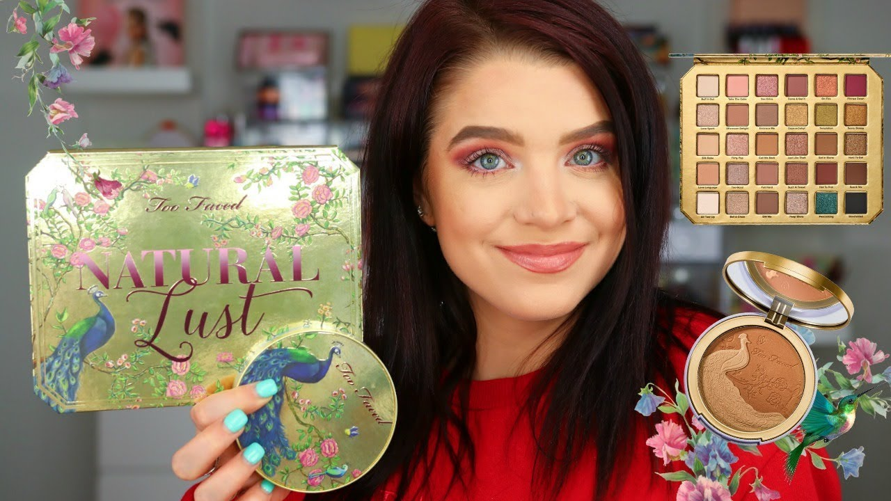 natural love too faced tutorial