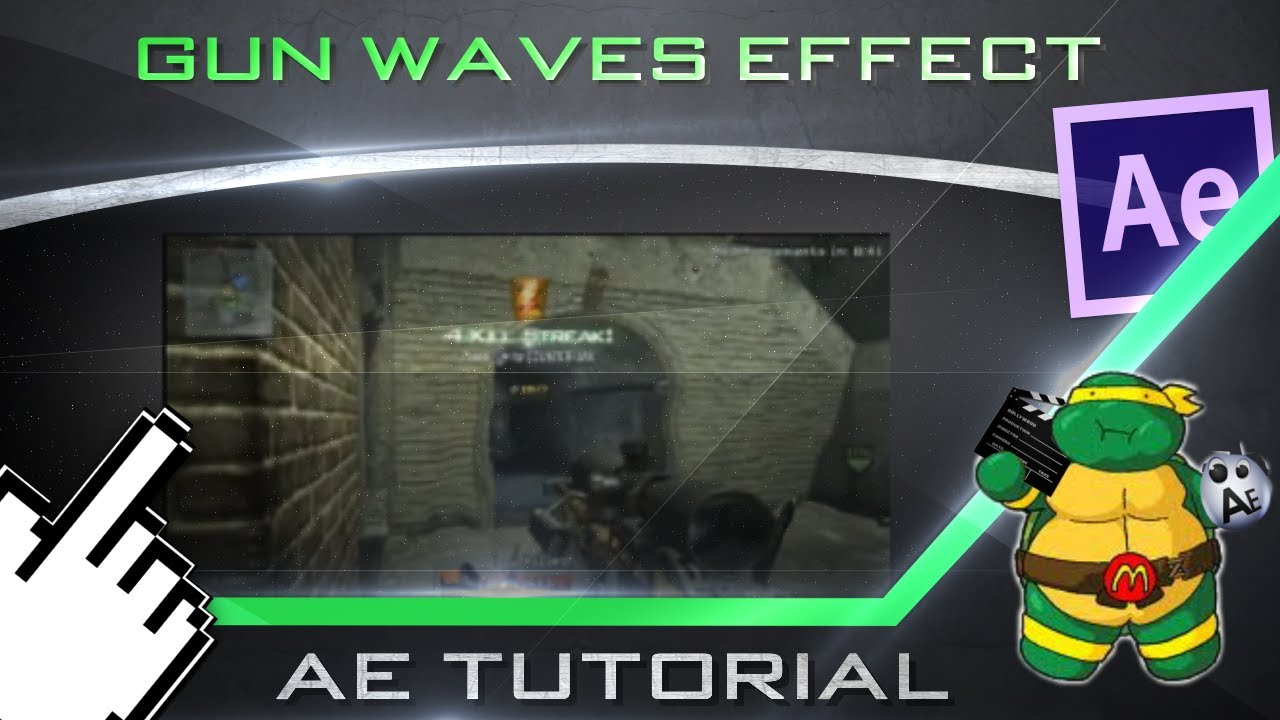wave world after effects tutorial