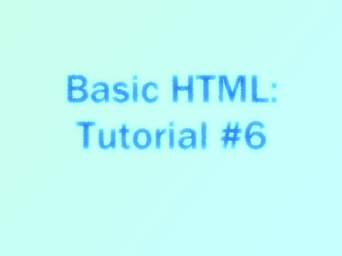 advanced html tutorial with examples