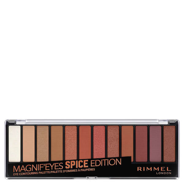 rimmel magnif eyes palette tutorial