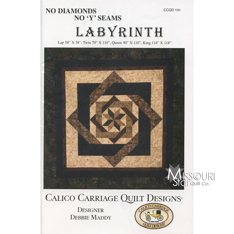 labyrinth quilt pattern tutorial