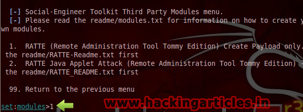 social engineering toolkit tutorial