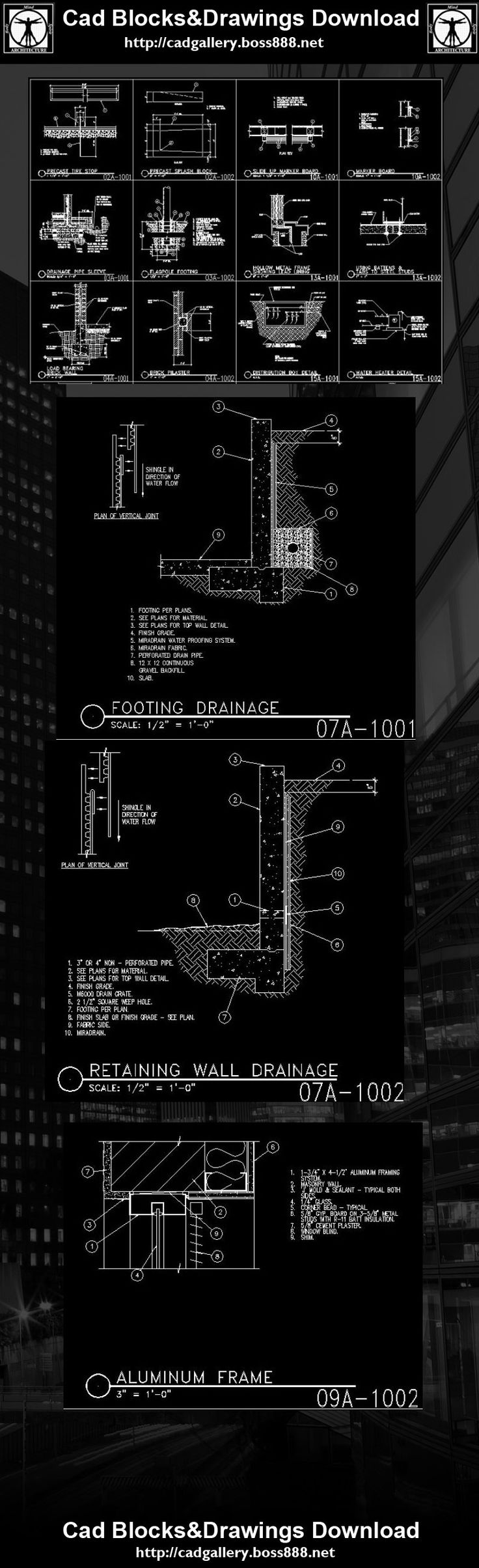 autocad architecture tutorial free download