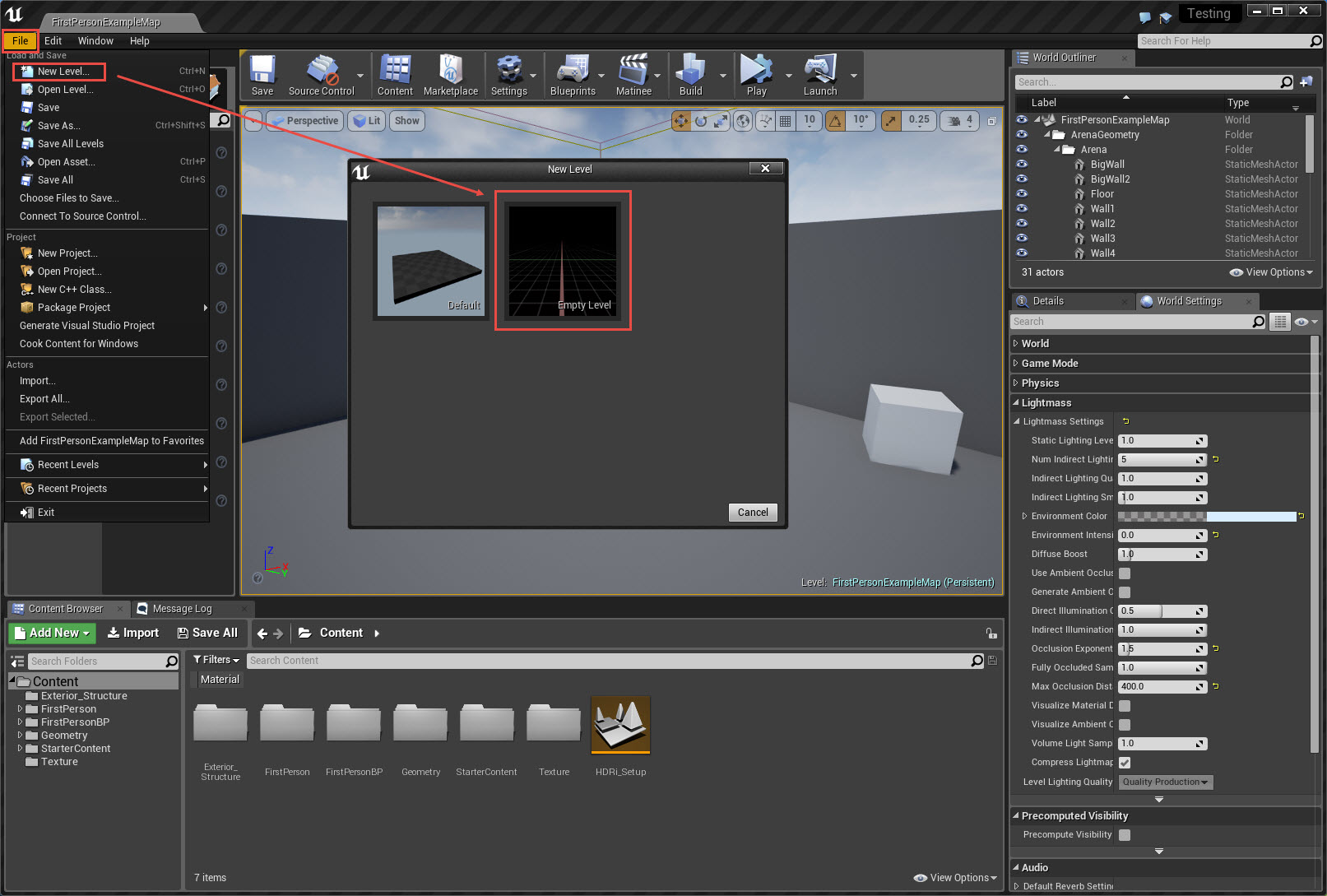 unreal engine 4 android tutorial
