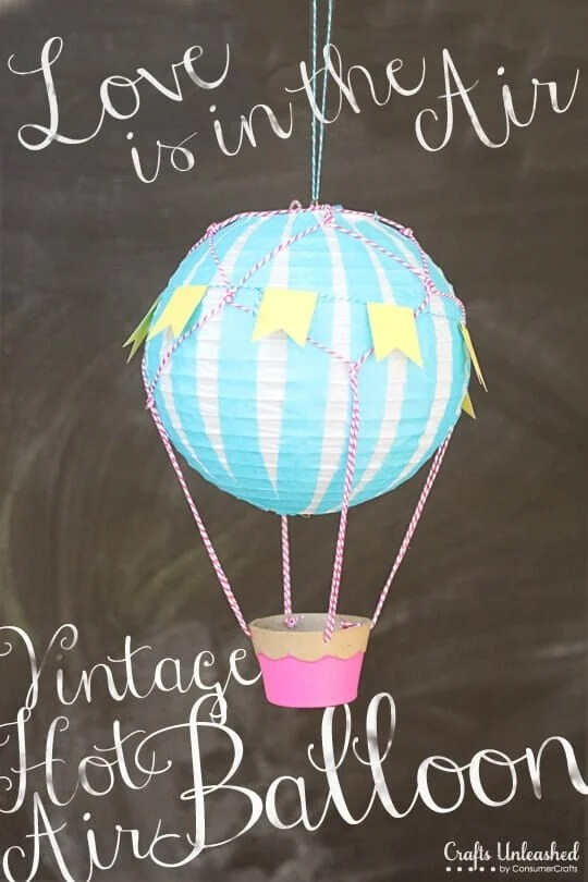 fondant hot air balloon tutorial