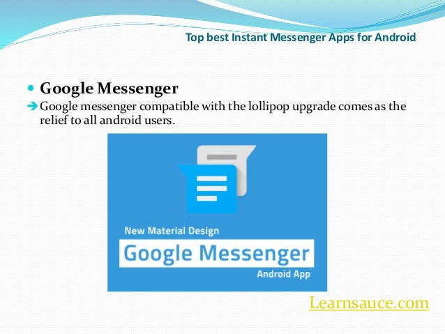 android messaging app tutorial