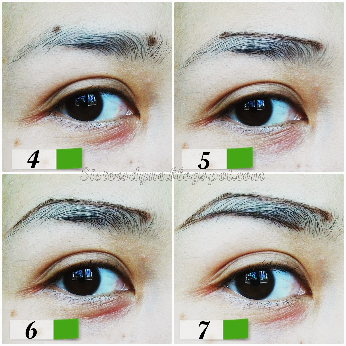 eyebrow tutorial with pencil only
