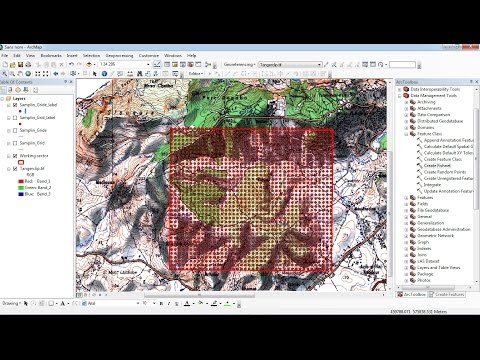 georeferencing arcgis 10.1 tutorial