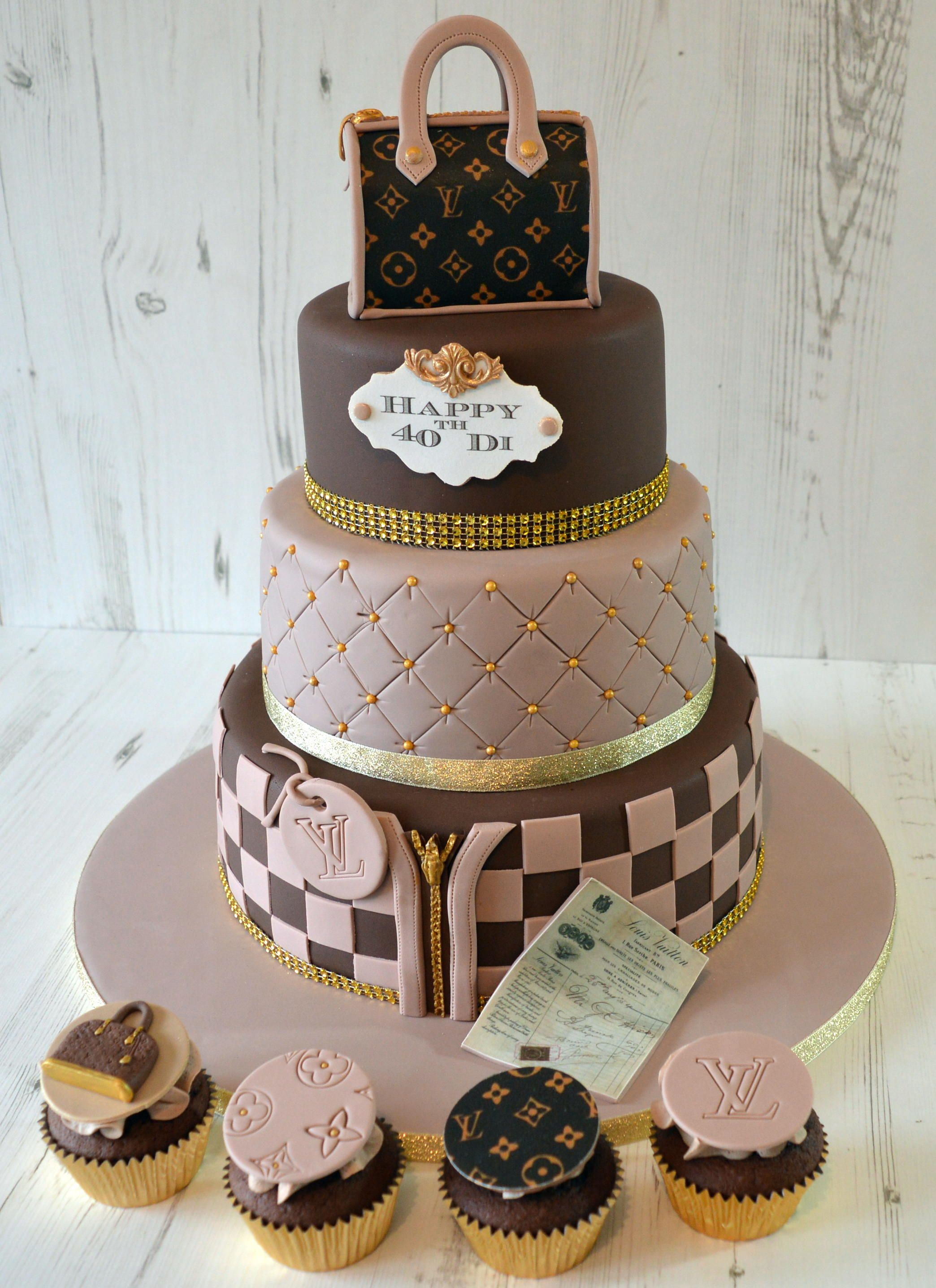 louis vuitton cake tutorial